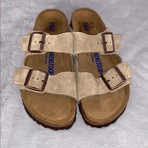 Birkenstock Arizona Soft Footbed Sandals Sz 38